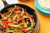 Meksika mutfağının gözde menüsü; Fajita