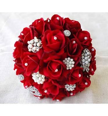 Kırmızı Gelin Çiçeği Modelleri