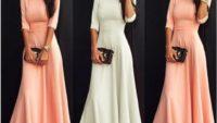 Sizin İçin Seçilmiş Uzun Elbise Modelleri